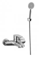 Смеситель ванна IN-H7033-1 нержавейка
