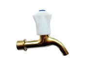 Кран водоразборный 1/2 бронзовый с пластмассовой барашкой