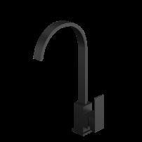 Смеситель кухни IN-H3015А нержавейка черный